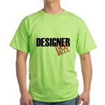 Off Duty Designer Green T-Shirt