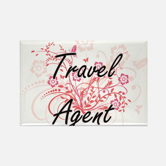 Travel Agent Artistic Job Design with Flow Magnets