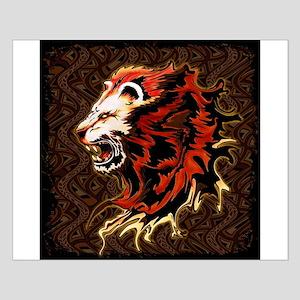 King Lion Roar Poster Design
