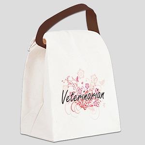 Veterinarian Artistic Job Design Canvas Lunch Bag
