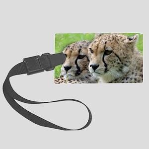 Cheetah009 Large Luggage Tag