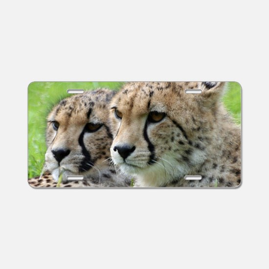 Cheetah009 Aluminum License Plate