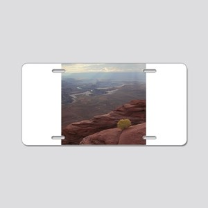 Green River Overlook Aluminum License Plate