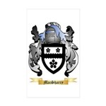 MacSharry Sticker (Rectangle 50 pk)