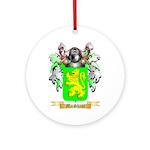 MacShane Round Ornament