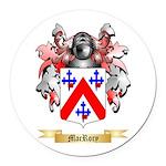 MacRory Round Car Magnet