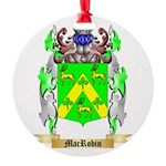 MacRobin Round Ornament