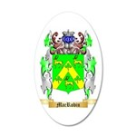MacRobin 35x21 Oval Wall Decal