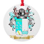 Macri Round Ornament