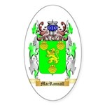 MacRannall Sticker (Oval 50 pk)