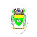 MacQuinn Oval Car Magnet