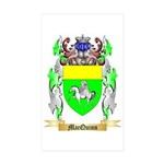 MacQuinn Sticker (Rectangle 10 pk)