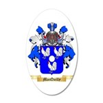 MacQuilly 35x21 Oval Wall Decal