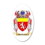 MacQuillan 20x12 Oval Wall Decal