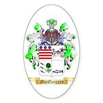 MacQuiggan Sticker (Oval 10 pk)