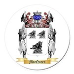 MacQueen Round Car Magnet