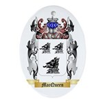 MacQueen Oval Ornament
