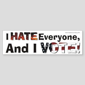 """Democracy..."" Bumper Sticker"