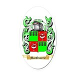 MacQuarrie Oval Car Magnet