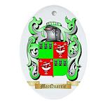 MacQuarrie Oval Ornament