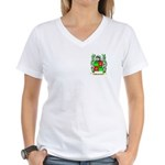 MacQuarie Women's V-Neck T-Shirt