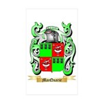 MacQuarie Sticker (Rectangle 10 pk)