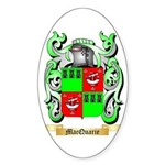 MacQuarie Sticker (Oval 10 pk)