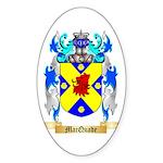 MacQuade Sticker (Oval 50 pk)