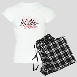 Welder Artistic Job Design Women's Light Pajamas