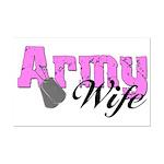 Army Wife  Mini Poster Print