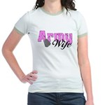 Army Wife Jr. Ringer T-Shirt