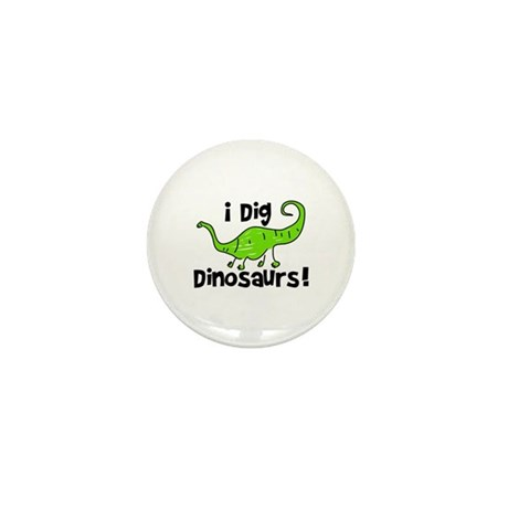 I Dig Dinosaurs! Mini Button (100 pack)