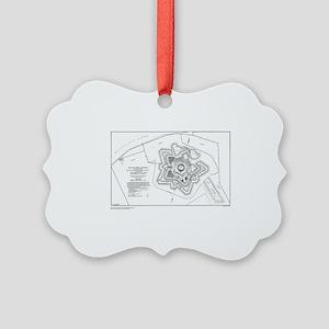 Plan of Ft. Jackson Ornament