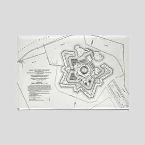 Plan of Ft. Jackson Magnets