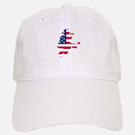 Baseball Catcher American Flag Baseball Baseball Baseball Cap