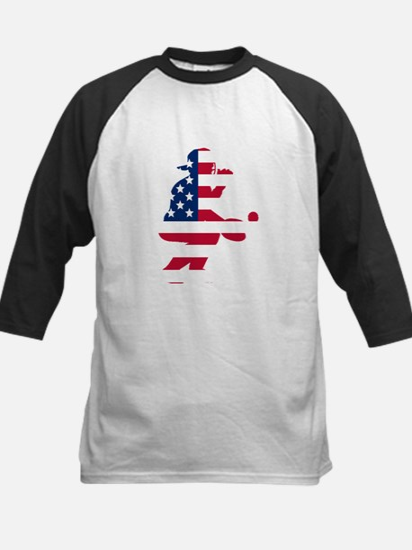 Baseball Catcher American Flag Baseball Jersey