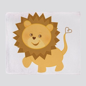 Baby Lion Throw Blanket