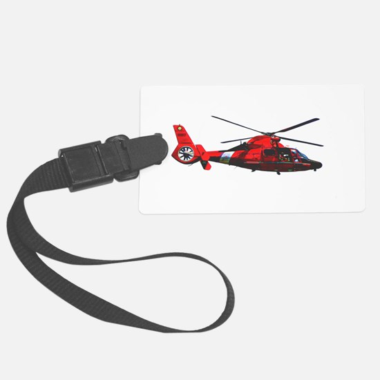 USCG helicopter Luggage Tag