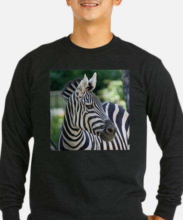 Zebra 001 Long Sleeve T-Shirt