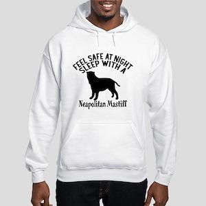 Feel Safe At Night Sleep With Ne Hooded Sweatshirt