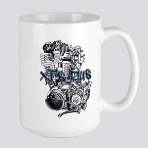 XT's Plus logo Mugs