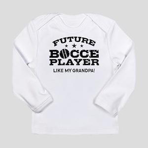Future Bocce Player Lik Long Sleeve Infant T-Shirt