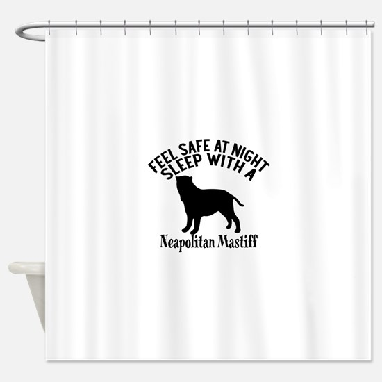 Feel Safe At Night Sleep With Neapo Shower Curtain