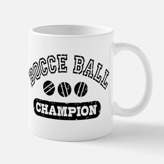 Bocce Ball Champion Mug