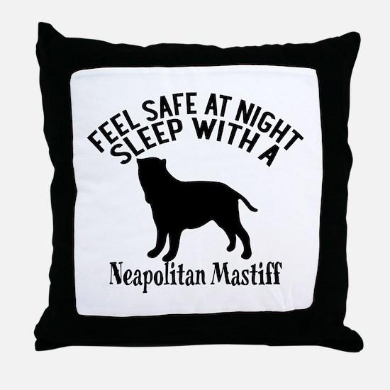 Feel Safe At Night Sleep With Neapoli Throw Pillow