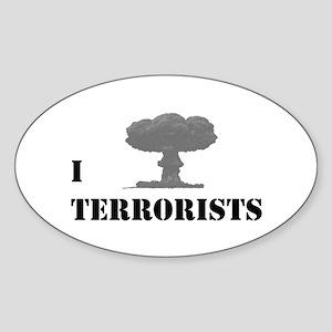 I Nuke Terrorists Sticker