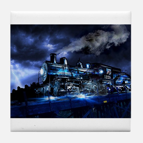 Midnight Express Tile Coaster