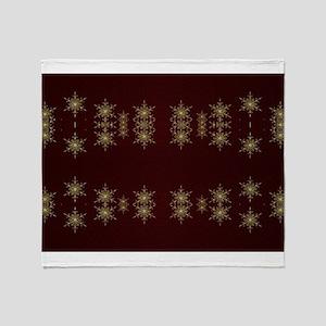 golden star Throw Blanket
