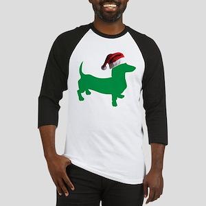 Christmas Dachshund Baseball Jersey