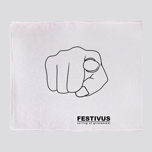 FESTIVUS™ airing of grievances Throw Blanket